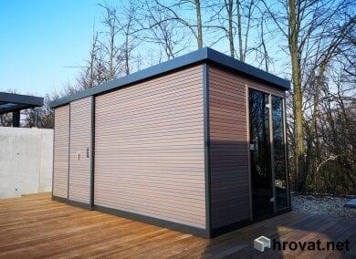 Gartenhäuschen mit sauna